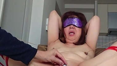 Granny Japanese mom's dirty sex