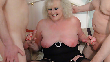 Gangbang Granny Claire Knight