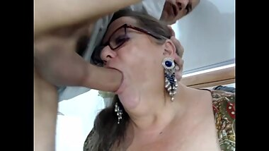 Facefucked Granny....
