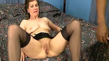 Mature Lady Gets a Creampie from BBC co-worker