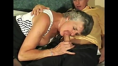 British Granny Wants Some Younger Cock