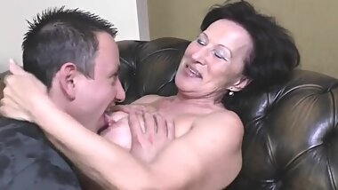 old granny fucked by her boy
